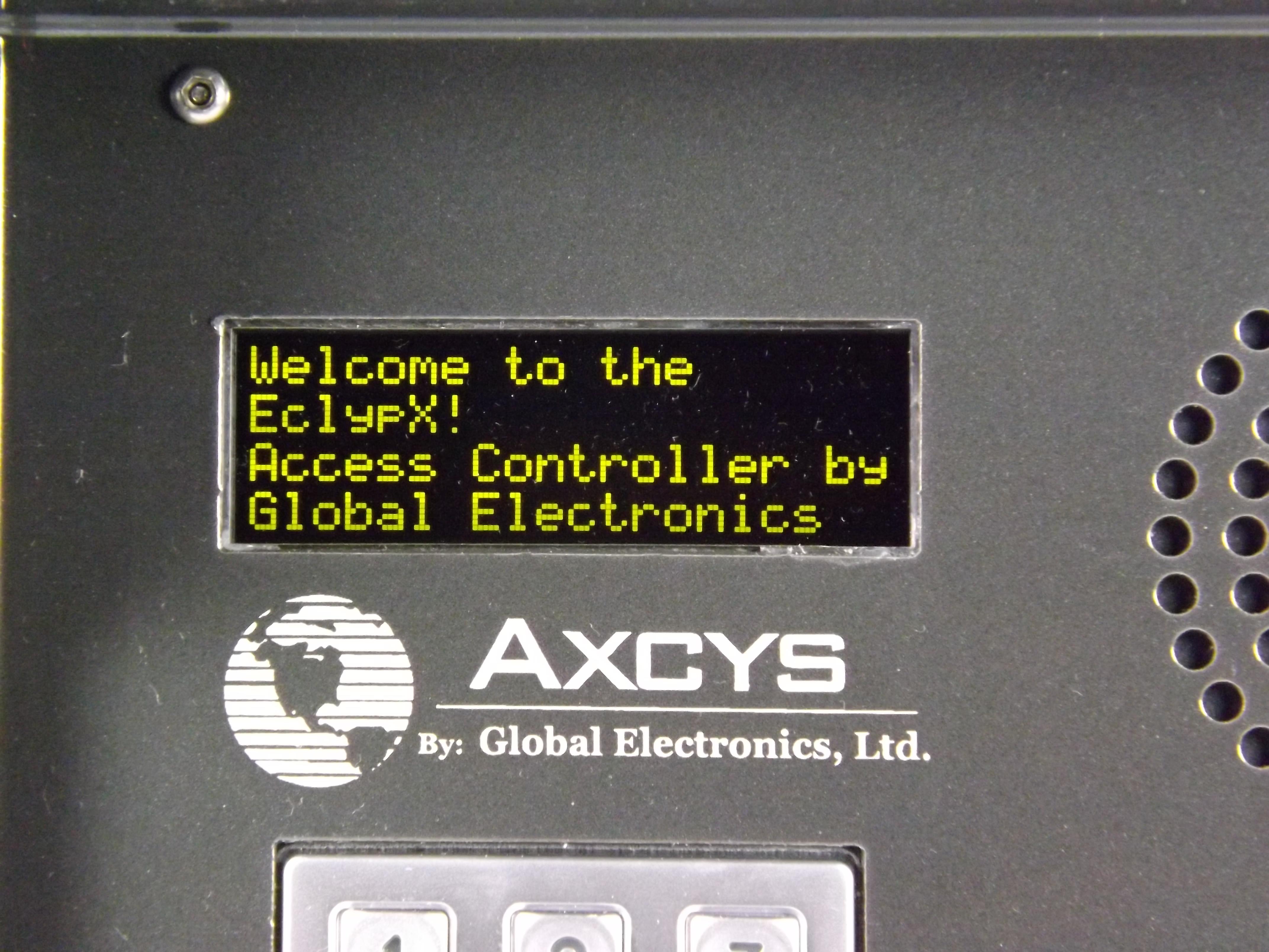 Keypad Options